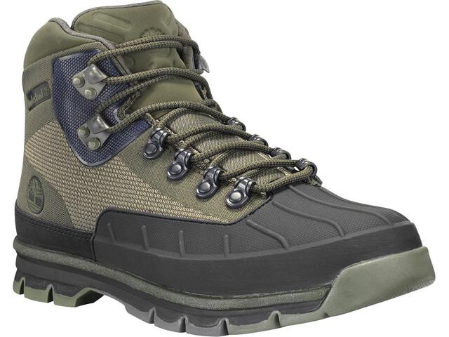 2a2945ecfc7 Timberland Euro Hiker Shell Toe Scarpe Jacquard Uomo, dark green